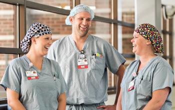 Three Registered Nurses